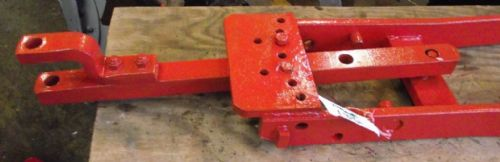 David Brown Tractor Hitch and Drawbar.